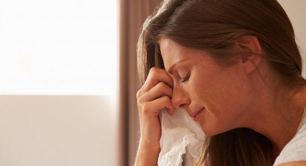 疲労とストレスで、ママだって泣くこともある