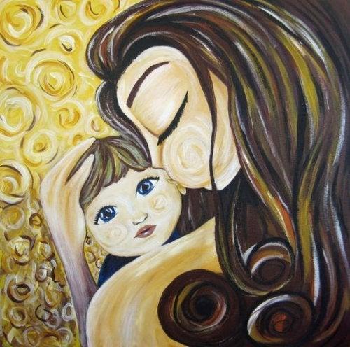 子供に愛情を伝える-baby mother