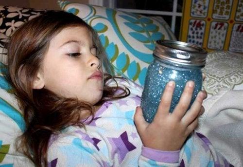 寝る時の知覚ボトル
