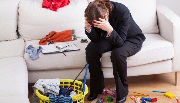 フルタイムで働くお母さんが疲れている理由