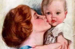 キスは子どもを強くする