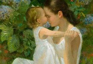 ママのキスと免疫力