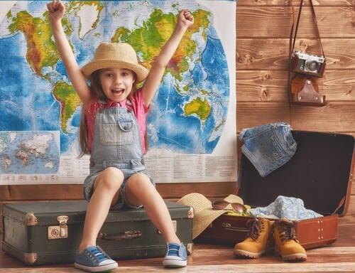 小さい頃に旅行を経験する効果とは?