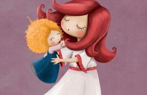 抱っこは子どもを甘やかすことではない