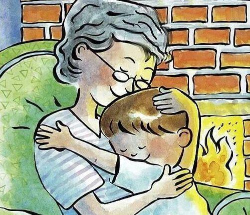 おばあちゃん-孫-宝物-2