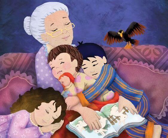 おばあちゃん-孫-宝物-3