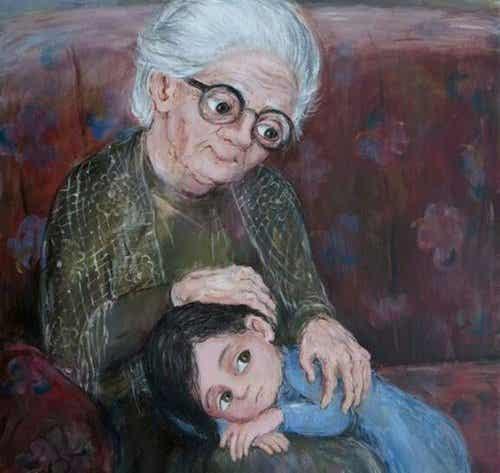 おばあちゃんは夜空の一番星