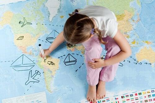 小さい頃に旅行を経験