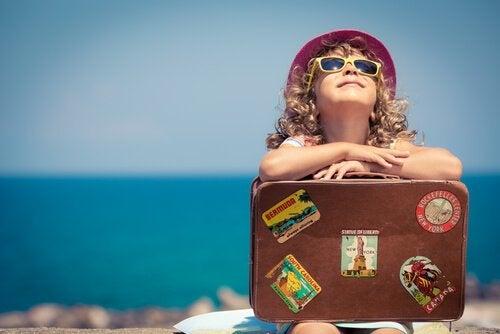 小さい頃に旅行を経験する