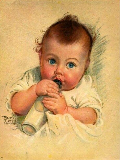 赤ちゃん-見つめる-観察