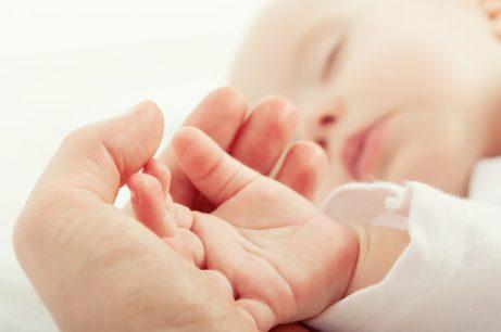 赤ちゃんが静かに寝る