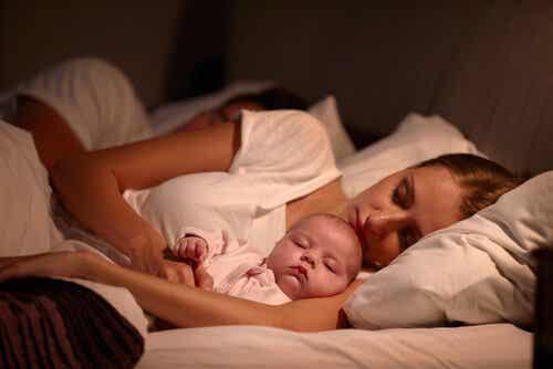 お子さんが良く眠れるようにする4つのアイデア