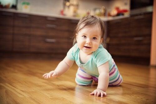 生後7か月の赤ちゃん