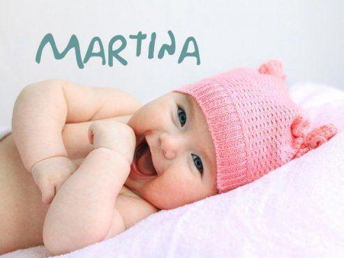 赤ちゃんの名前マルティナ