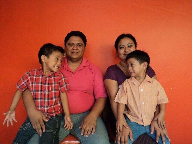 家族で愛情表現