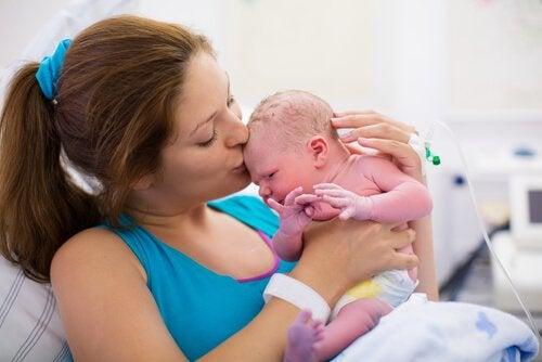 出産後の処置は変化してきた