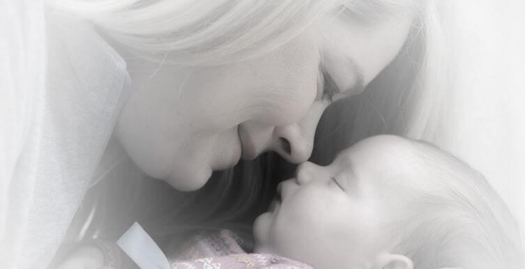 赤ちゃんのにおい:素敵な繋がり
