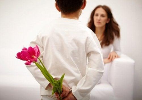 子どもからの愛が最高の報酬