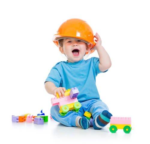 おもちゃが子どもの発達を助けます