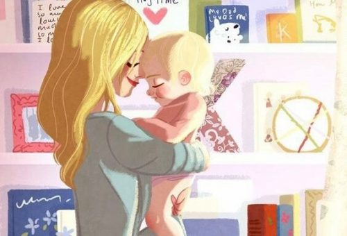 子どもにおはようのキスをすること
