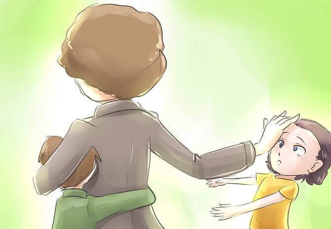 毒となる母親 の図