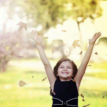 幸せな子供