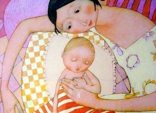 母親と赤ちゃん 恐怖心