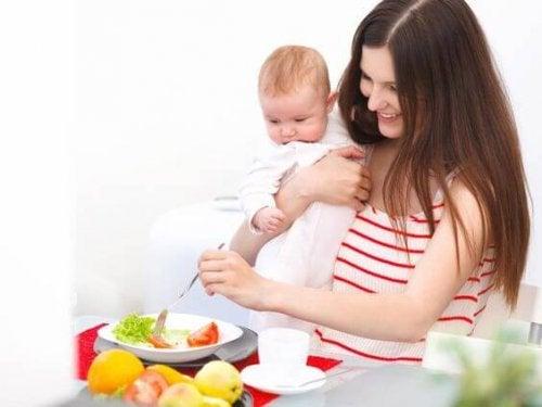 母乳育児で減量? ダイエット