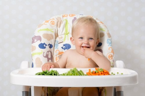 離乳食 :野菜の導入