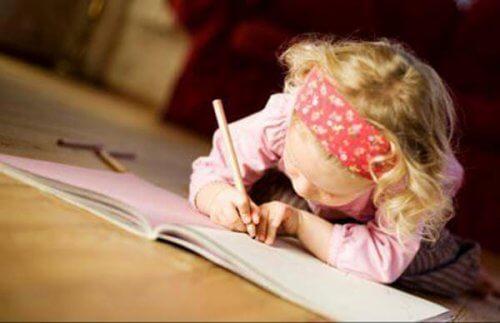 女の子の勉強