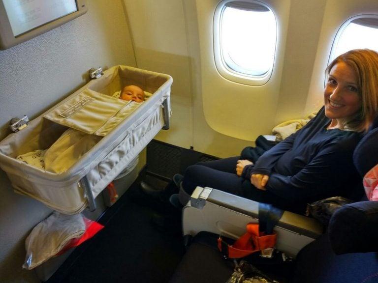 赤ちゃんと旅行
