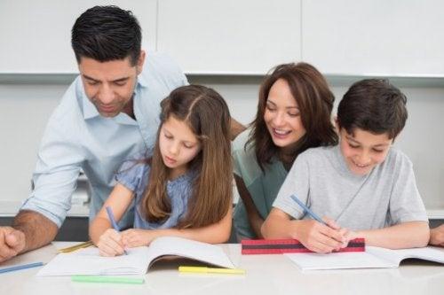 家族で勉強 責任