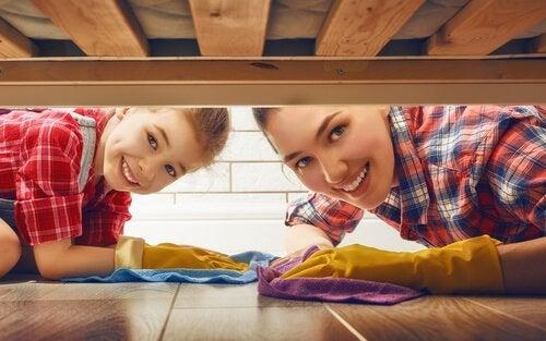 子どもに家事の手伝いをさせる教育