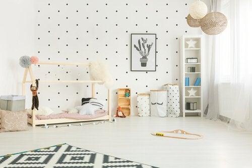 モンテソーリ法で飾る:子ども部屋インテリア