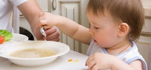 9ヶ月から12ヶ月の赤ちゃんのためのレシピ