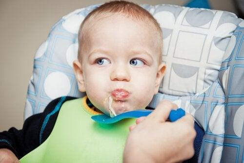 9ヶ月から12ヶ月の 赤ちゃんのためのレシピ