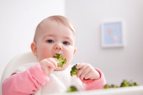 野菜を食べる 赤ちゃんの体重