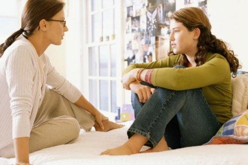 青年期になる前に親を信頼できるように