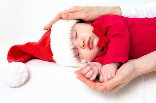 クリスマスベビー 冬の出産