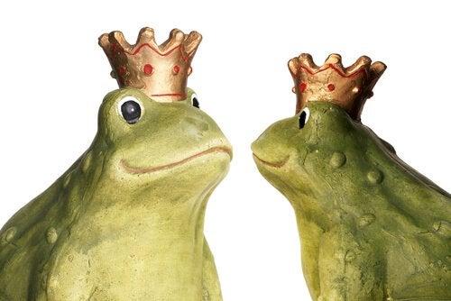 二匹の蛙 童話