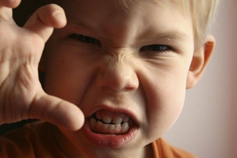 子どもの怒り