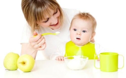 9ヶ月から12ヶ月までの赤ちゃんのためのデザートレシピ