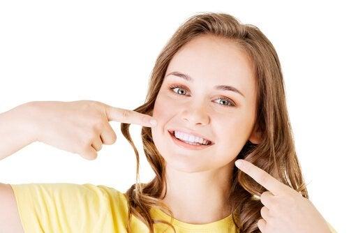 健康な歯 歯の汚れ