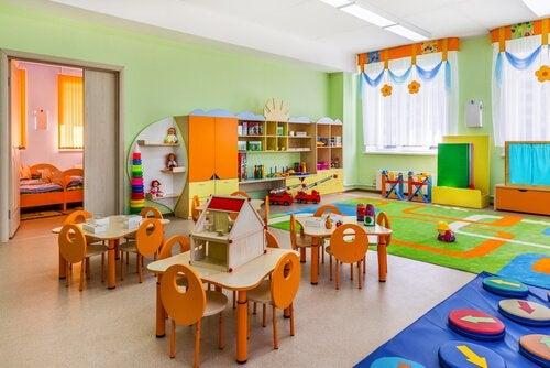 モンテッソーリ式:教室の整理整頓の仕方