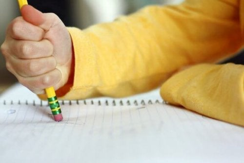 子どもが書き間違いをたくさんしてしまう