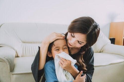 子どもの鼻水への対処法 子ども 鼻水
