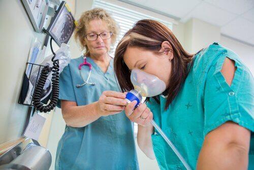 亜酸化窒素:出産時の痛み止め