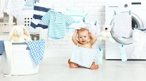 赤ちゃんの服を洗う時に気をつけること