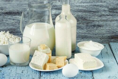 乳製品-ビタミン