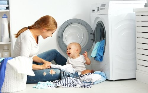子供の服の洗濯